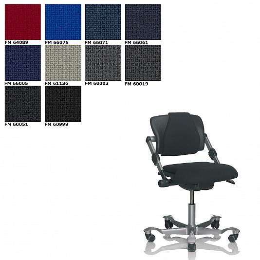 HAG330Fame_HAG H03 330 bureaustoel Stof Fame