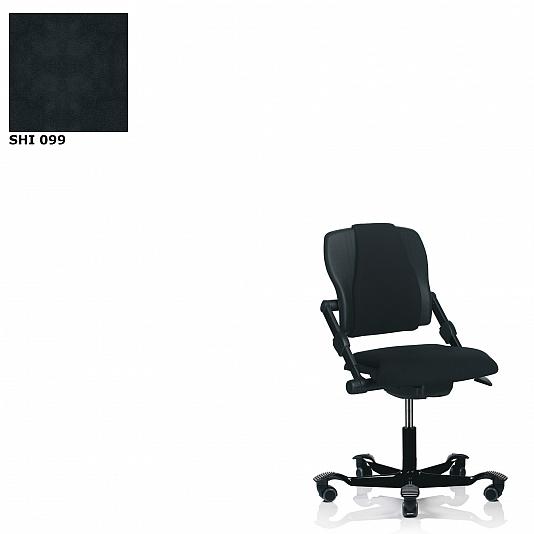 Fijne Zwarte Bureaustoel.Hag Bureaustoelen H03 340 Zwart Xtreme Ergonomische Bureaustoel
