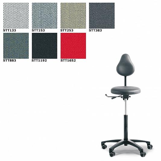 RH Support 4545 bureaustoel Stof Steelcut