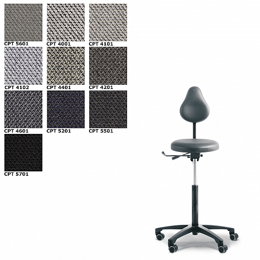 RH Support 4545 bureaustoel Stof Capture