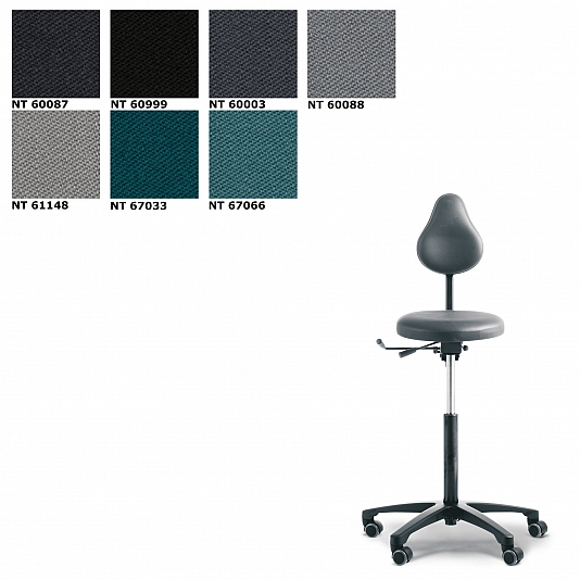 RH Support 4545 bureaustoel Stof Note